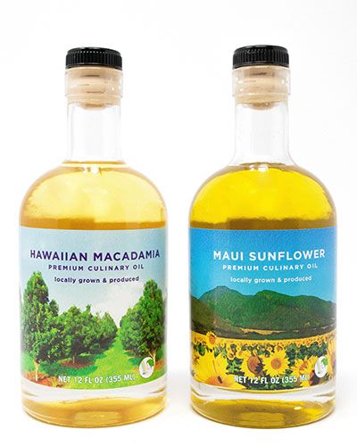Hawaiian cooking oils