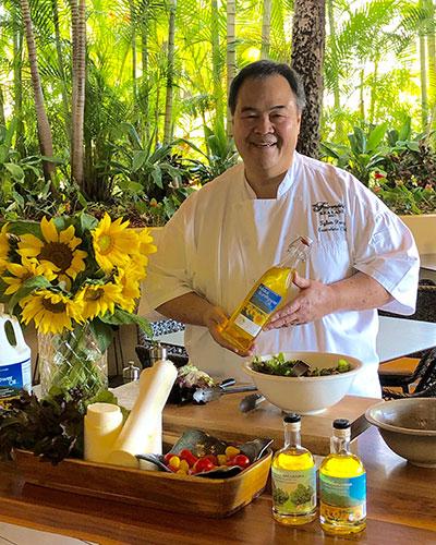Maui chef uses Hawaiian cooking oil